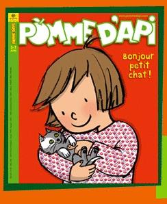 Une des couvertures originales de la revue «Pomme d'Api»