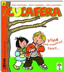 Une des couvertures de l'édition catalane de la revue «Pomme d'Api»